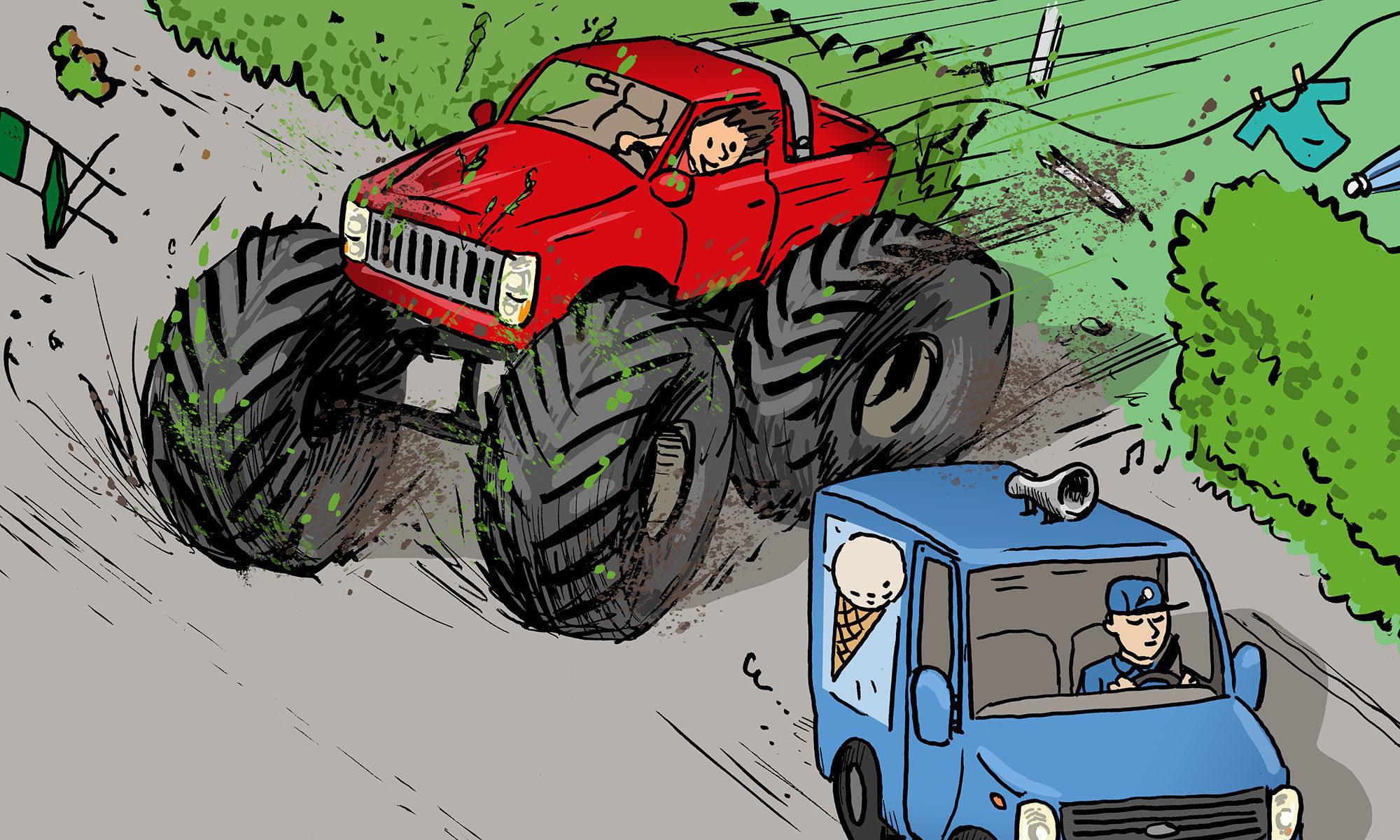 Henning Lystad illustrasjon